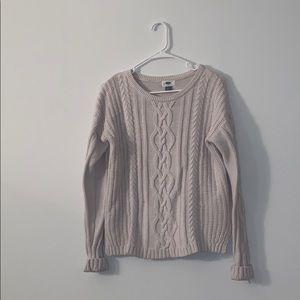 Classic cream sweater